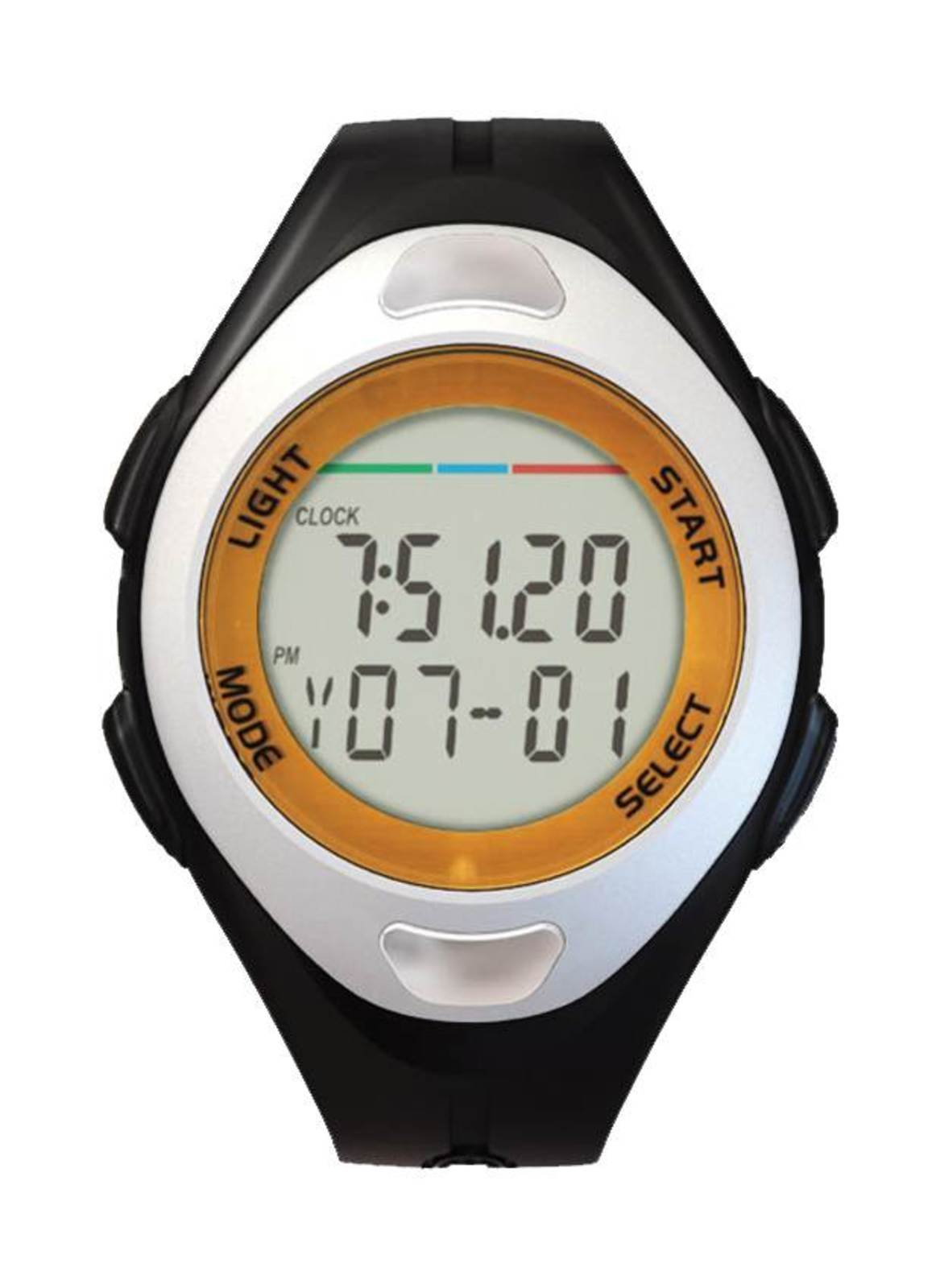 Js-712a Stopwatch-pedo-pulse Digital Wrist Watch