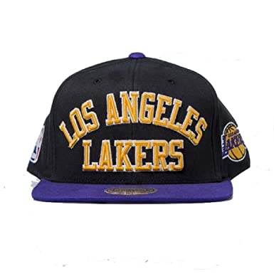 GORRA MITCHELL AND NESS NBA LOS ANGELES LAKERS KOBE BRYANT LONZO BALL: Amazon.es: Ropa y accesorios