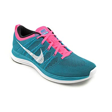 best service 5acfd 97a1c NIKE Flyknit One+ Womens Size 9.5 Blue Textile Running Shoes  Apparel