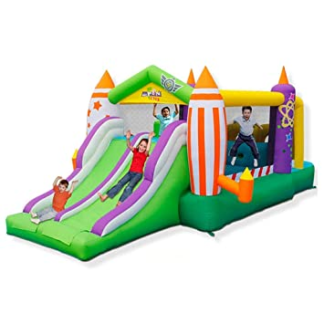 WJSW Castillos hinchables Castillo Inflable para niños Juguetes ...