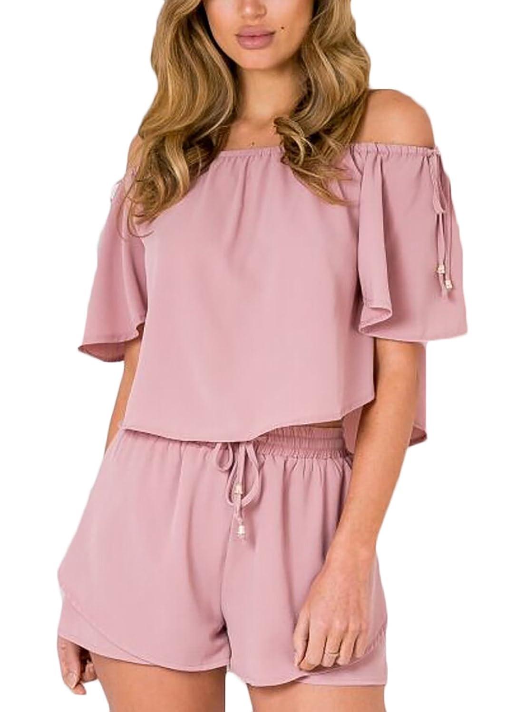 8c8275c11caf De bajo costo Lannister Fashion Conjuntos Mujer Verano Elegantes ...