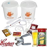Coopers Kit fermentación Cerveza Lusso con un Malto
