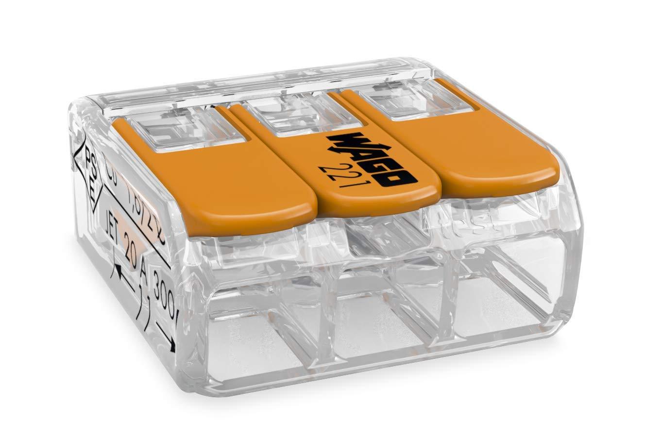Wago 221-413 bloque para terminal eléctrica - Electrical terminal block, 50 unidades product