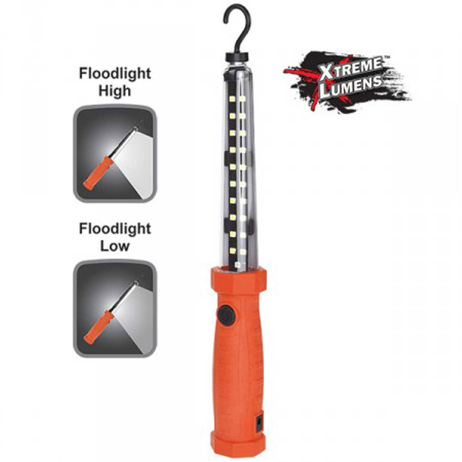 Xtreme LumensTM Rechargeable Multi-Purpose LED Work Light - Red - Lot of 2