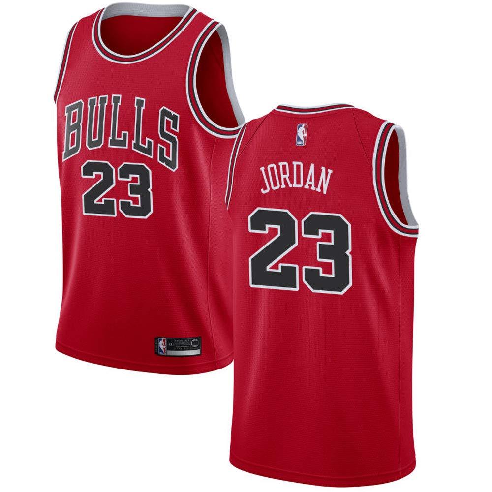 0d8b4bcf929 Amazon.com : Chicago Bulls Swingman Men's Michael Jordan Jersey Red-Icon  Edition : Sports & Outdoors