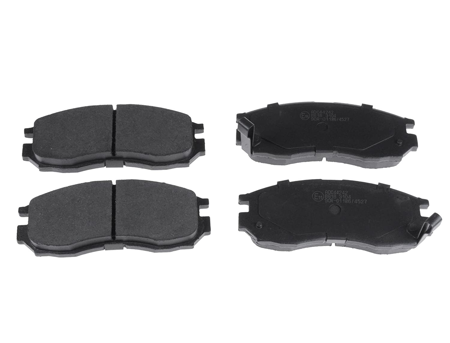 Blue Print ADC44242 Brake Pad Set pack of four