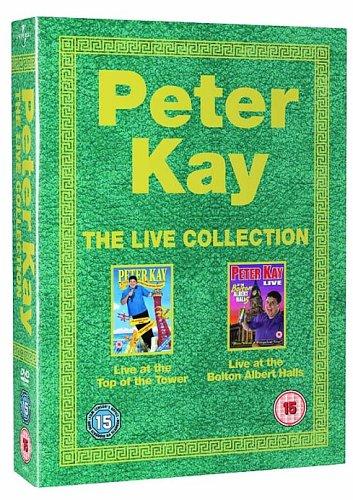 Peter Kay - タワーの上に住んでいる/ボルトンのアルバートホールに住んでいる(2 Disc Box Set)[DVD]   B000JGG93M