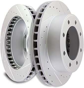 Front Rotors Metallic Pads For 1999 2000 2001 2002 2003 2004 EXCURSION F250 F350