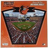 Turner Licensing Sport 2017 Baltimore Orioles Camden Yards Wall Calendar, 12''X12'' (17998011987)