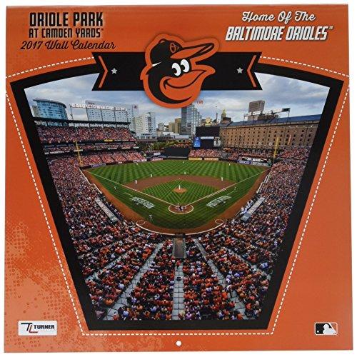 Turner Licensing Sport 2017 Baltimore Orioles Camden Yards Wall Calendar, 12