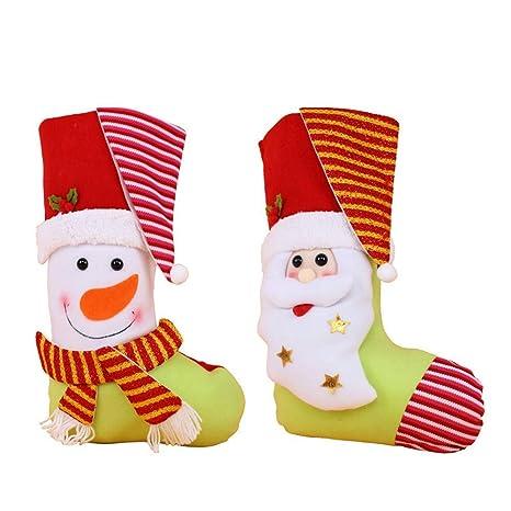 sakj-d Decoraciones de Navidad, Bolsas, Colgantes, Bolsas de ...