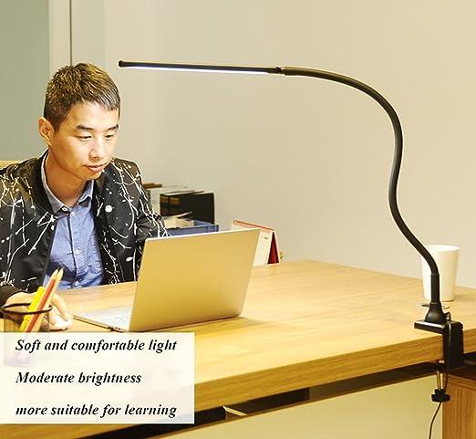 WSXXN Clip clip de protección de los ojos lámpara de escritorio ...