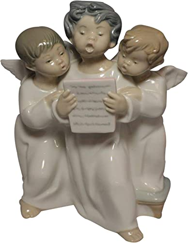 Lladro Group of Angels Figurine