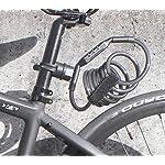 CROPS-Pro-K5-Tsurugi-Lucchetto-Antifurto-Bici-Combinazione-180cm