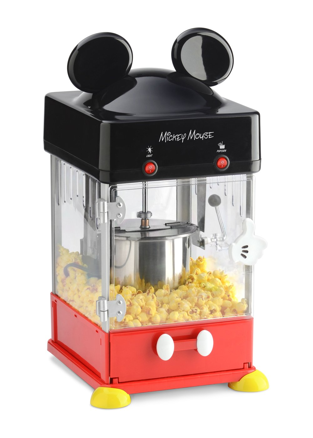 Disney Mickey Kettle Style Popcorn Popper by Disney