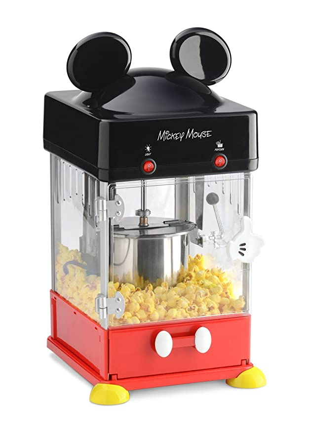 Amazon.com: Mickey Mouse Estilo palomitas de maíz eléctrica ...
