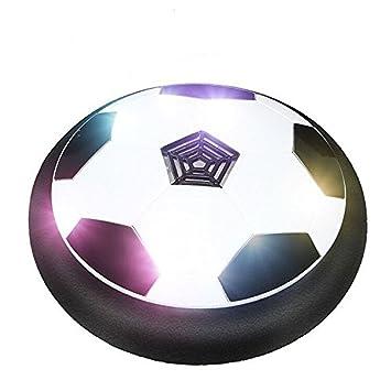 Juguete Balón de Fútbol Flotante, Pelota con Suspensión de Aire y Luces LED para Jugar