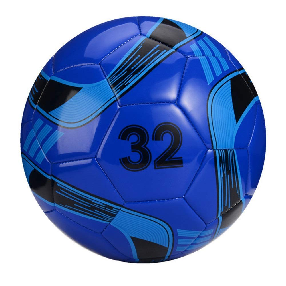 Jajx-os Kids Toys Soccer Children Competition Wear-Resistant Practice Ball Primary School PVC Football Mini Soccer Ball Official Size of 4 for Girls and Boys Outdoor Sport (Color : C5, Size : 4) by Jajx-os