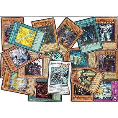 25 Assorted YuGiOh Foil Rares Cards! All Foil Cards!: Toys & Games