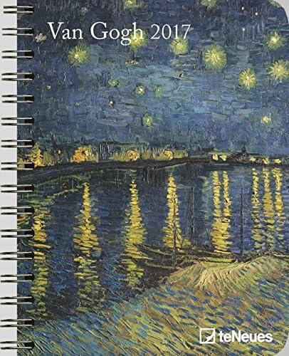 2017 Van Gogh Diary - Teneues Large Deluxe Diary - Art Diary - 16.5 X 21.6 Cm