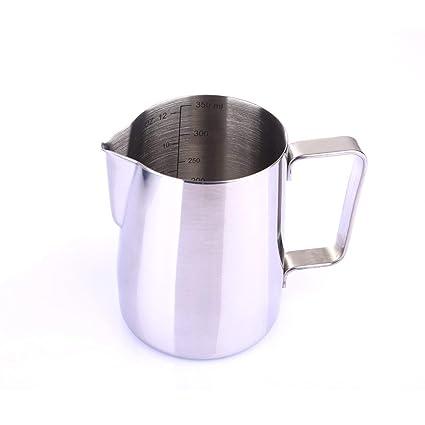 Jarra de leche de acero inoxidable Jarra de leche taza de leche para espuma de leche