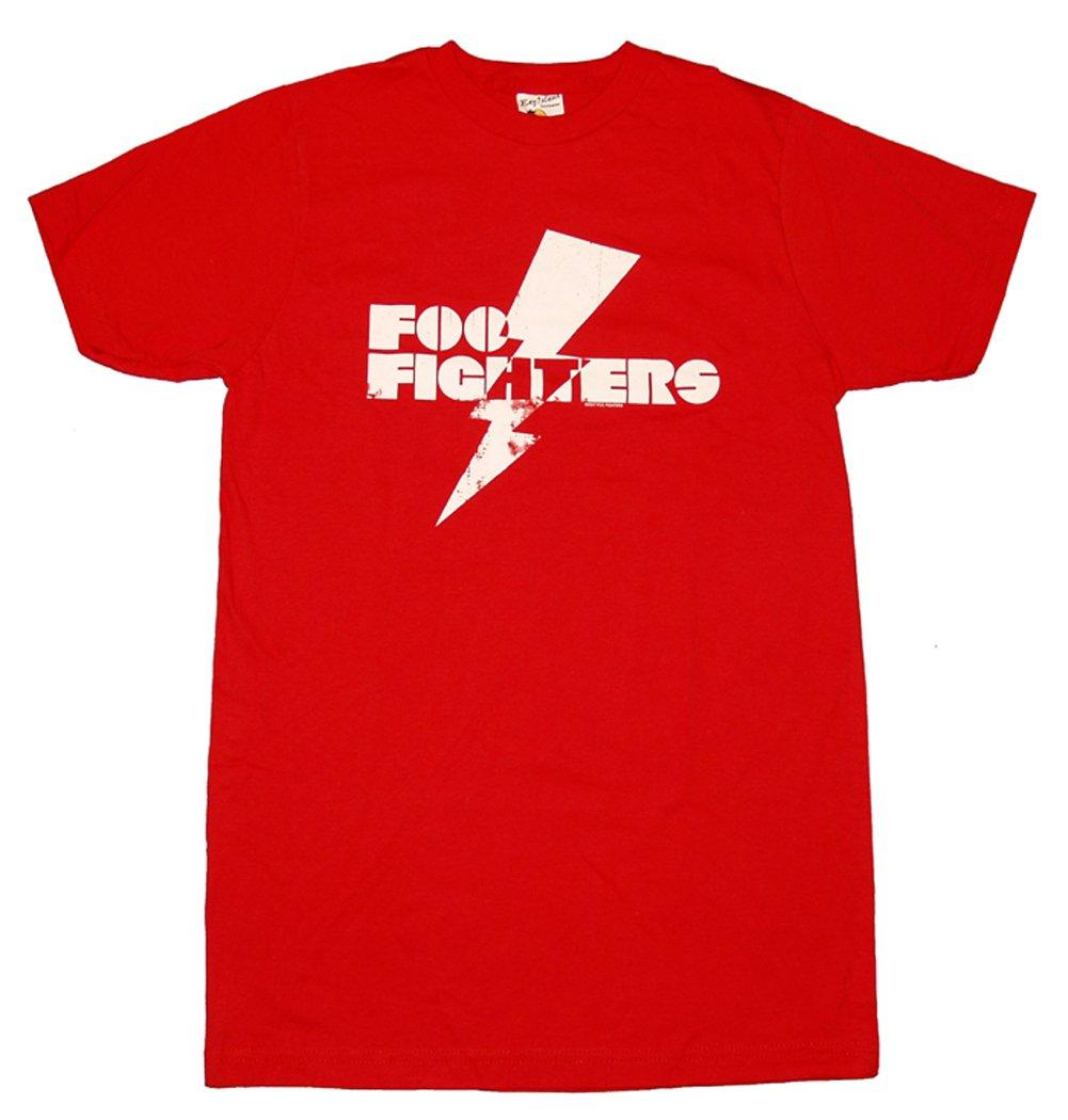 Foo Fighters Lightning Bolt Small Shirts