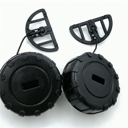shiosheng Fuel Tank Gas Oil Filler Cap Fit STIHL 017 017C 018 018C 019T  MS170 MS170C MS180 MS180C MS190T MS191T Chainsaw Parts #1130 350 0500