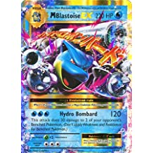 Pokemon TCG Evolutions XY12 Single: Mega Blastoise-EX 22/108 HOLO Rare