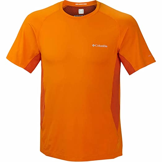 9db5eb1a650 Amazon.com: Columbia Freeze Degree S/S Crew Shirt, Valencia, XX ...