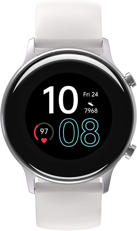 UMIDIGI Smartwatch Mujer Reloj Inteligente Hombre con GPS Monitor de Oxígeno en Sangre, Frecuencia Cardíaca, Seguimiento del Sueño, Impermeable Reloj Deportivo para Correr, 17 Modos Deportivos