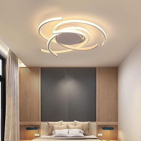 Luz Techo Dormitorios Plafon LED Diseño Lamparas de Techo Modernas ...
