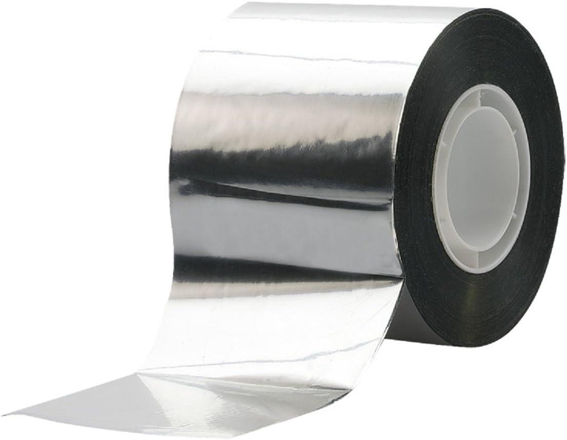 1 Rollenpackung 50M Aluband Alu-Klebeband selbstklebend hitzebest/ändig leitf/ähig Aluminiumband Rolle Klebefolie Reparaturband zum Abdichten und D/ämmen Isolierband ulofpc Aluminiumfolienband
