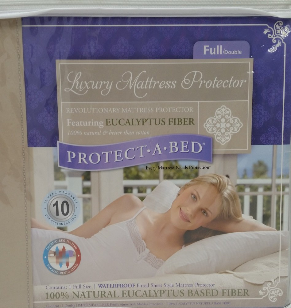 Protect-A-Bed Luxury Waterproof Mattress Protector, Full