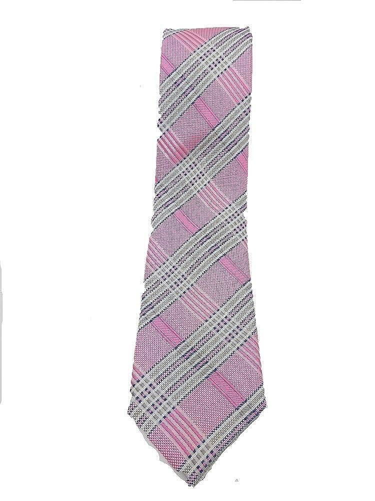 Corbata Silk Ties para hombre Rosa Rosa Blau Grau Mehrfarbig Talla /única