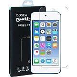ipod touch 6 強化ガラスフィルム【Qosea】ipod touch 6/ ipod touch 5 液晶保護フィルム 硬度9H 指紋防止 飛散防止 超薄0.3mm 2.5D ラウンドエッジ加工 (ipod touch 6/5, 強化ガラスフィルム)