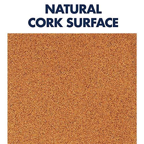quartet cork tiles cork board 12 x 12 corkboard wall bulletin boards natural 8 pack 108. Black Bedroom Furniture Sets. Home Design Ideas