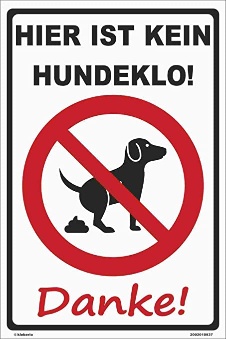 Kleberio® - ¡Aquí no Hay Ninguna Galleta para Perros! Cartel ...