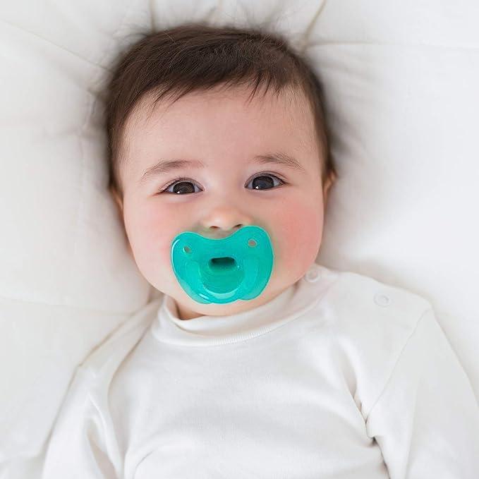 Suavinex - Chupete Smoothie todo silicona para bebés 0/6 ...
