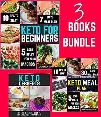 KETOGENIC DIET: KETO DIET COOKBOOK - Keto for Beginners, Keto Meal Plan Recipe Cookbook, Keto Dessert Recipes (Ketogenic cookbook)