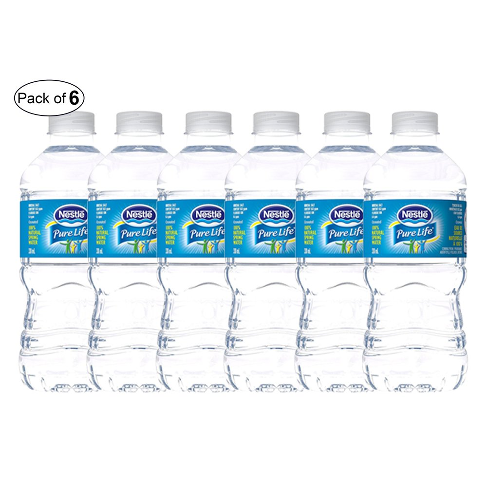 dd1ca0df6e Nestle Pure Life Natural Spring Water- 330ml (Pack of 6): Amazon.ca: Grocery
