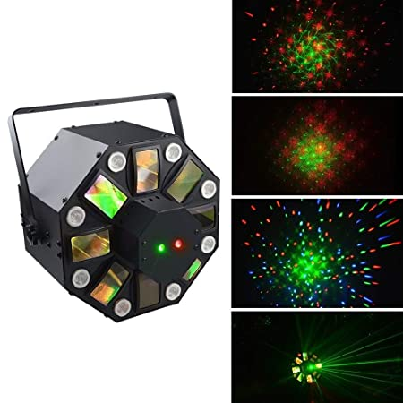 Disco light Proyector LED Decoraciones navideñas DJ DJ Activado ...