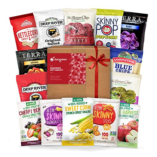 Gluten Free Snack Gift Box Healthy Premium Variety Bundle Care Package (15 Count)