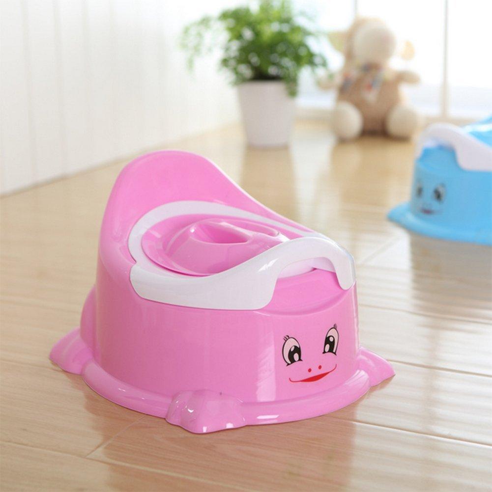 Blau Vi.yo Baby T/öpfchen Stuhl Smart T/öpfchen Spa/ß Toiletten Training Sitz mit abnehmbarem Topf f/ür Baby Jungen und M/ädchen