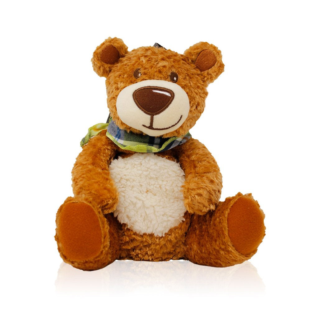 Fashy Bear with Scarf Heat Pack with Rape Seed Filling- Made in Germany