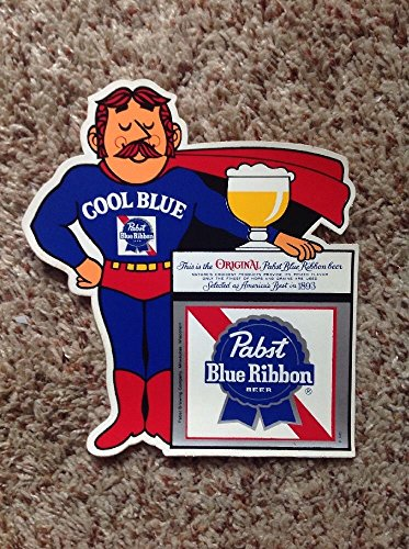 vintage-1970s-pabst-blue-ribbon-beer-man-cool-blue-decal-sticker