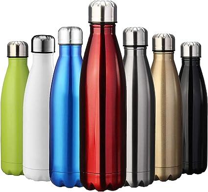 Trinkflasche Getränkeflasche Wasserflasche Sportflasche 750 ml blau//rot