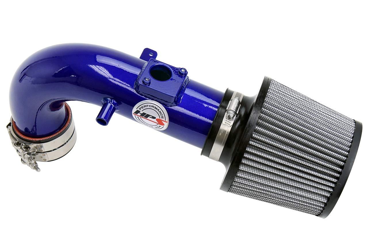 HPS Performance 827-508P Polish Shortram Air Intake Kit Cool 1 Pack