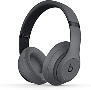 Beats Studio3 Wireless Headphones - Gray (Renewed)