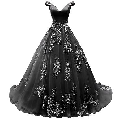AiniDress Women\'s Formal Appliques Prom Dresses Long Plus Size ...