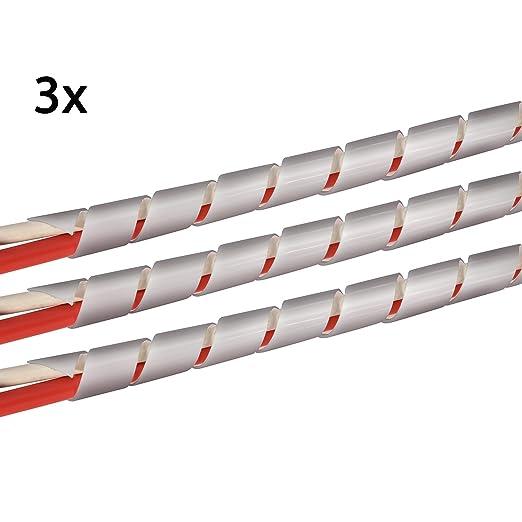 118 opinioni per TPFNet Premium Spirale tubo cavo / Raccogli cavi spiralato 4-50 mm (3 Pezzi),